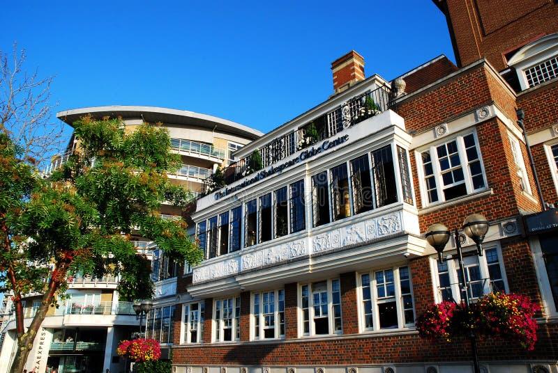 Het Internationale de Bolcentrum van Shakespeare royalty-vrije stock fotografie