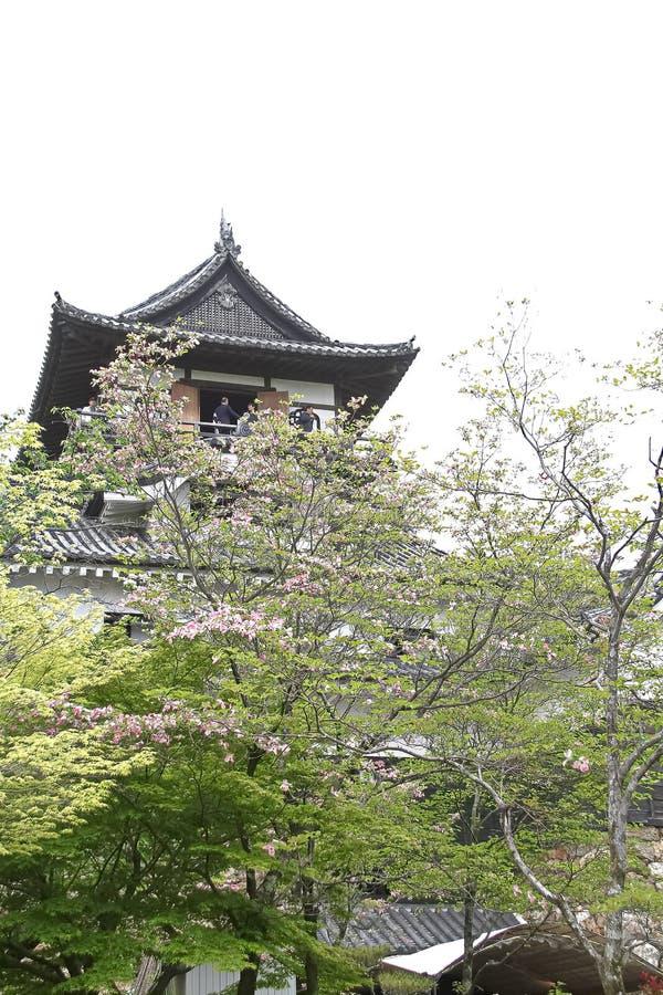 Het Inuyamakasteel is een Japans kasteel stock afbeeldingen