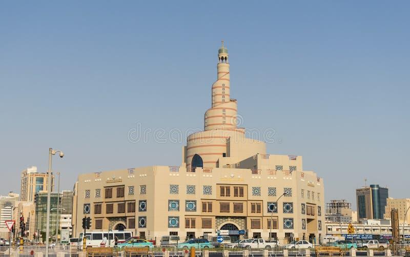 Het Islamitische Culturele Centrum van Qatar royalty-vrije stock afbeelding