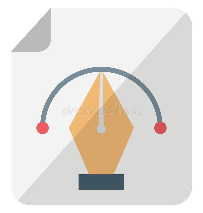 Het Isometrische ge?soleerde vectorpictogram van Adobe photoshop dat gemakkelijk kan worden gewijzigd of uitgeven vector illustratie