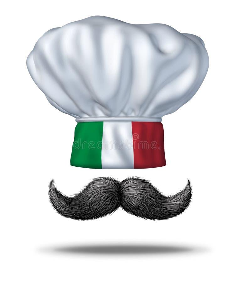 Het Italiaanse Koken stock illustratie