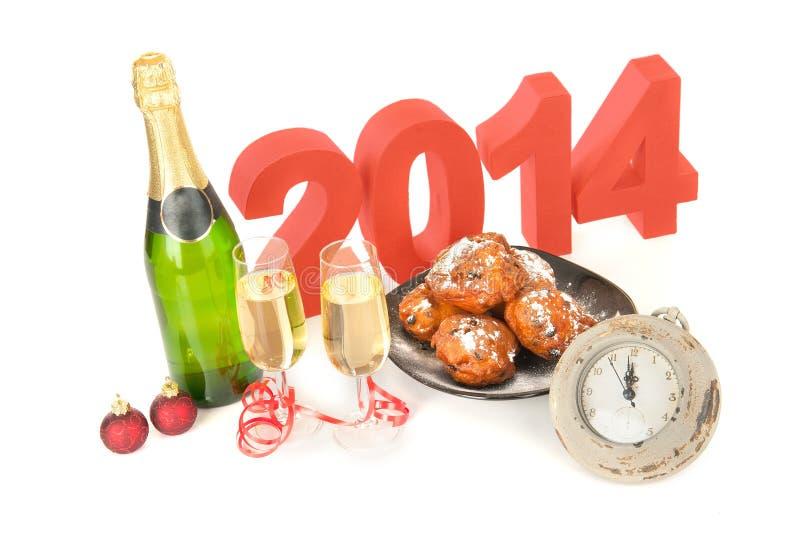 Het jaar 2014 stock afbeeldingen