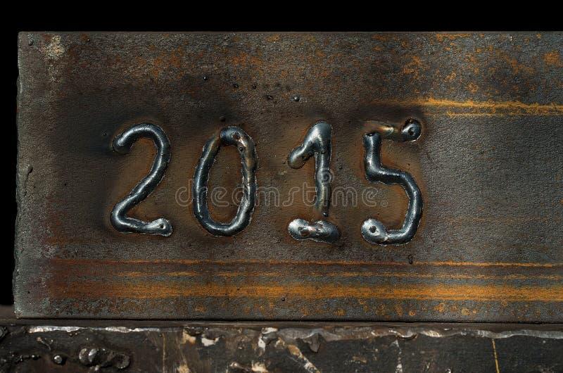 het jaar van 2015 royalty-vrije stock afbeeldingen