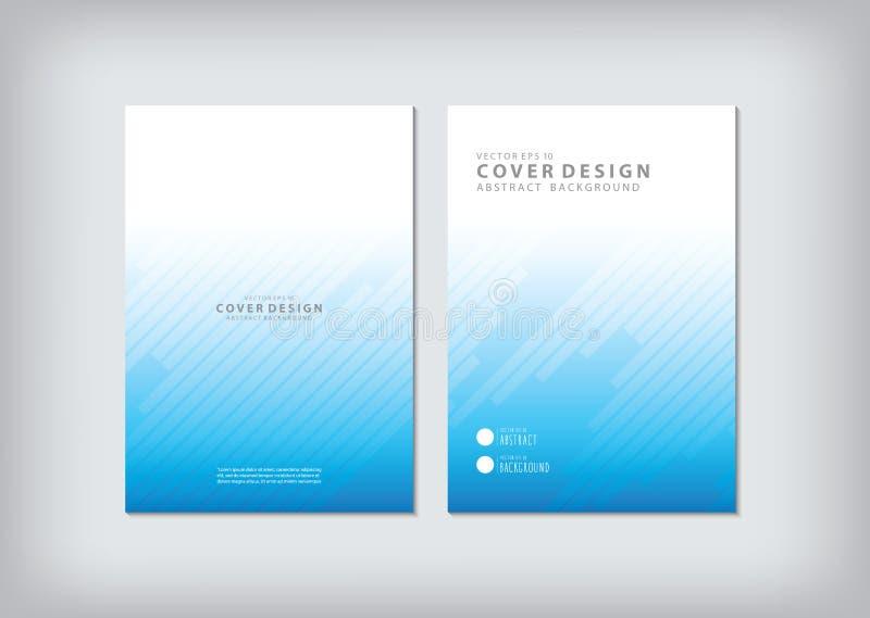 Het jaarverslag behandelt de zaken en de grafische vormen zoals bedelaars royalty-vrije illustratie