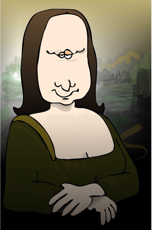 Het jammeren Leesa stock illustratie
