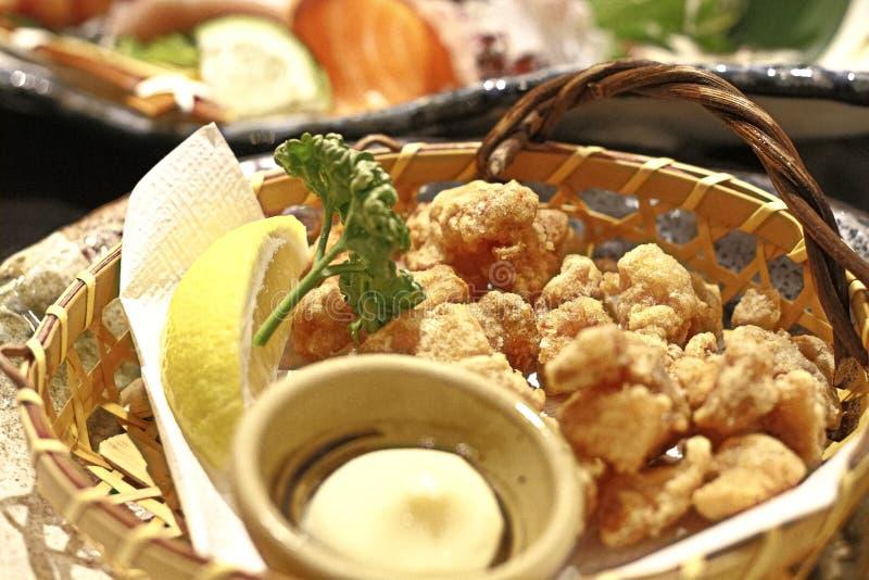 Het Japanse kraakbeen van de stijl kernachtige kip royalty-vrije stock afbeeldingen