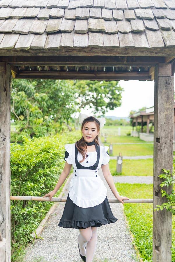 Het Japanse leuke meisje van het stijlmeisje royalty-vrije stock foto's