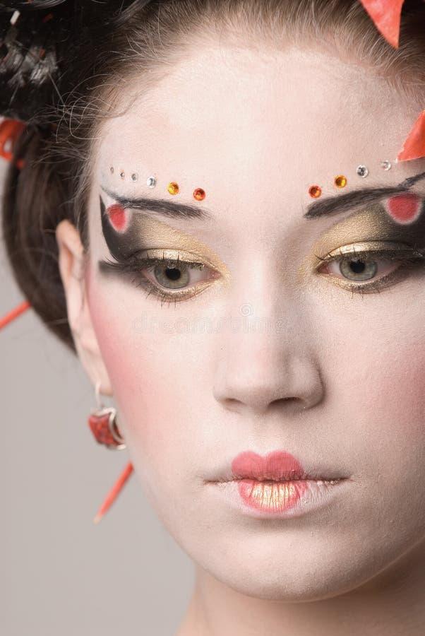 Het Japanse meisje royalty-vrije stock foto's