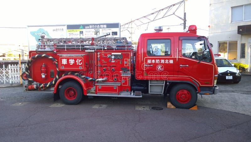 Het Japanse Toestel van de Brandmotor royalty-vrije stock afbeeldingen