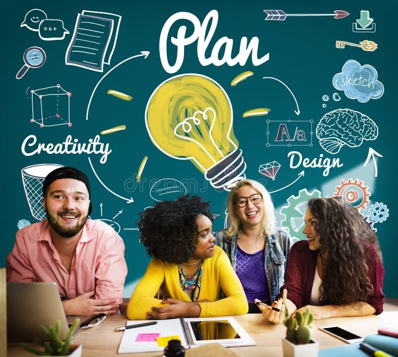 Het Jonge Concept van Studenteducation knowledge study stock afbeelding