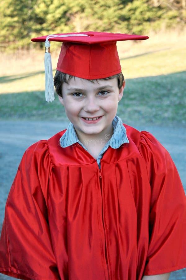 Het jonge geitje van de graduatie royalty-vrije stock afbeeldingen