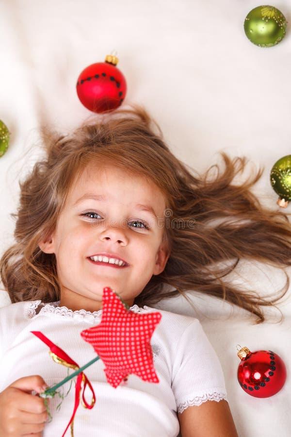 Het jonge geitje van Kerstmis stock afbeelding
