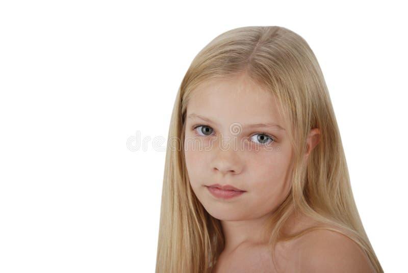 Het jonge modelportret van de gunst stock foto's