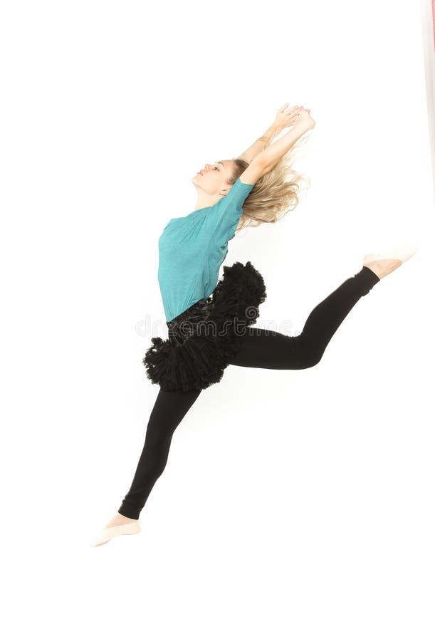 Het jonge mooie danser stellen royalty-vrije stock foto