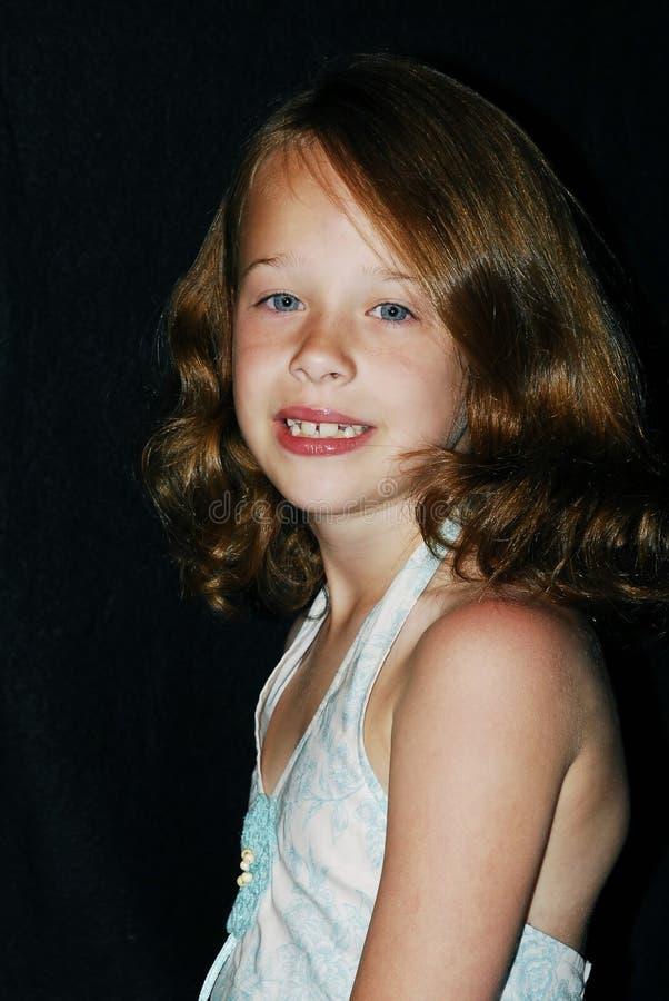 Het jonge Portret van het Meisje stock foto's