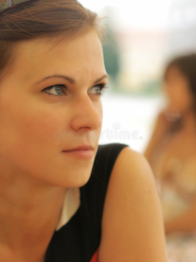 Het jonge Portret van het Meisje stock foto
