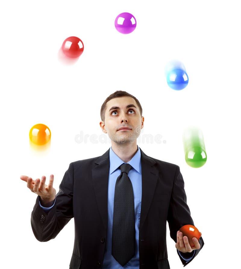 Het jongleren met van de zakenman
