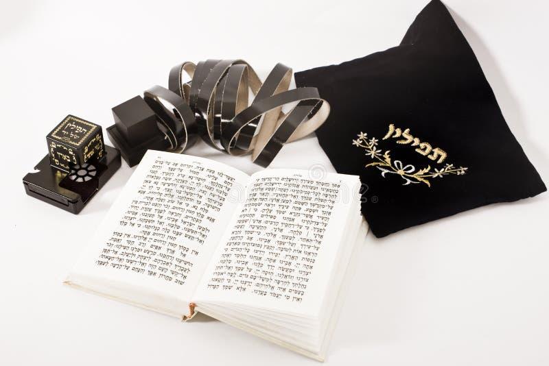 Het Joodse bidden royalty-vrije stock fotografie