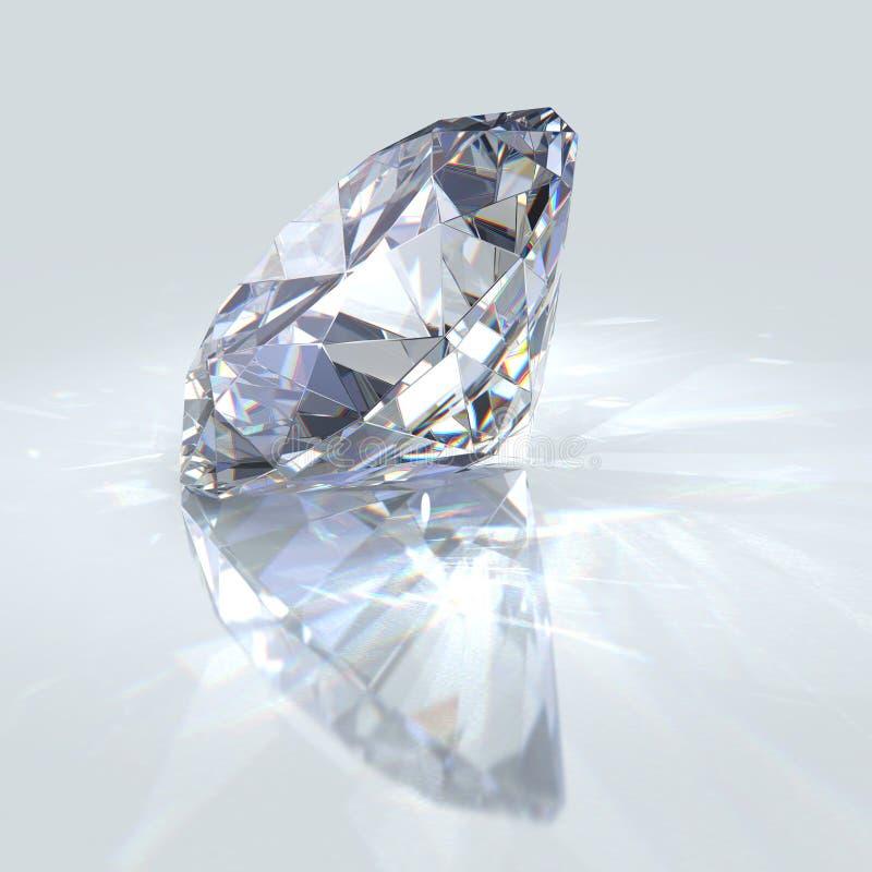 Het juweel van de diamant stock illustratie
