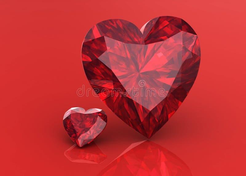 Het juweel van de diamant royalty-vrije illustratie
