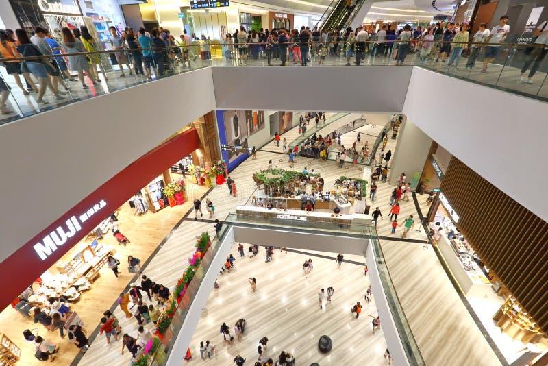 Het Juweel van Singapore in Changi Aiport royalty-vrije stock foto