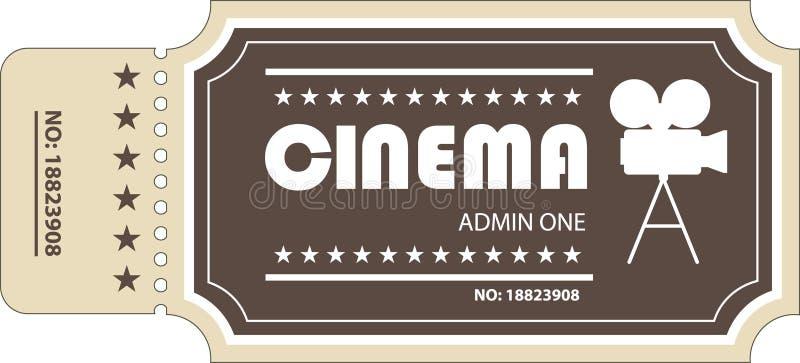 Het kaartje van de film