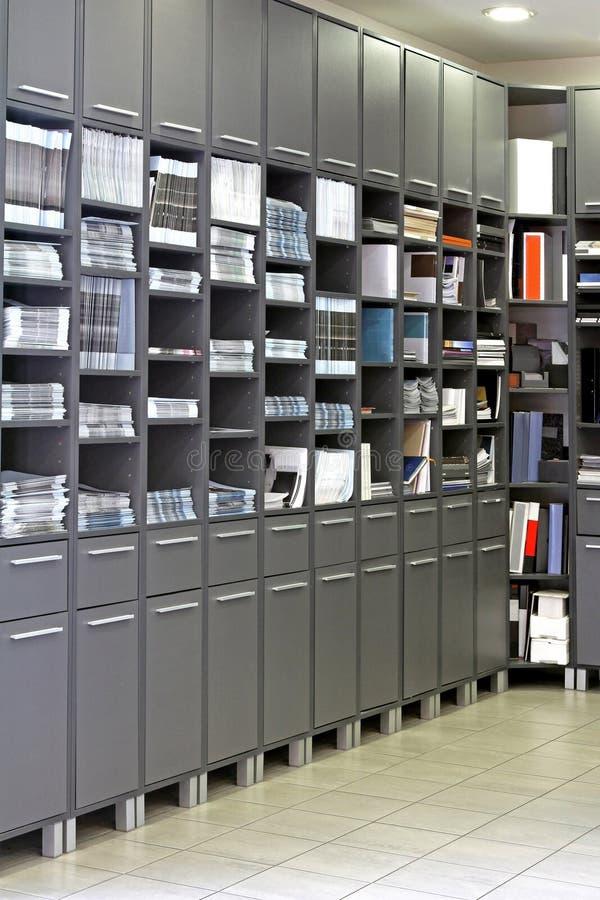Het kabinet van het bureau royalty-vrije stock foto's