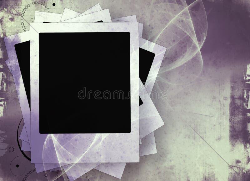 Het kader van de Grungefilm vector illustratie
