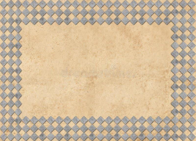 Het kader van de Grungefoto vector illustratie
