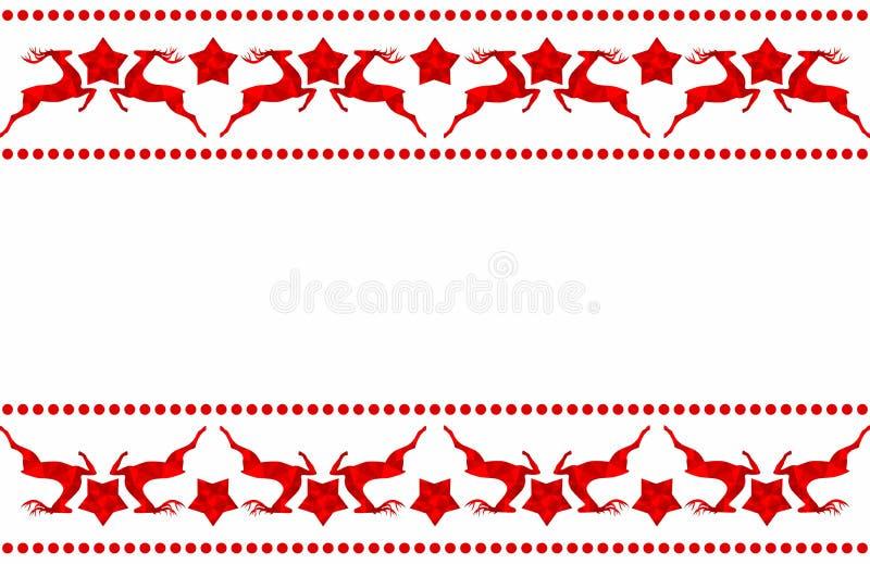 Het kader van Kerstmis met plaats voor uw tekst royalty-vrije stock foto's