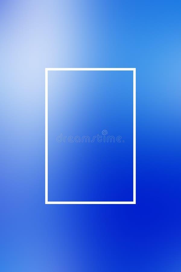 Het kadersamenvatting van de achtergrondonduidelijk beeldgradiënt, zaken stock illustratie