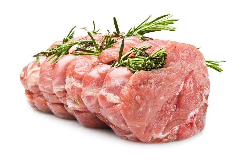 Het Kalfsvlees van het braadstuk stock afbeeldingen