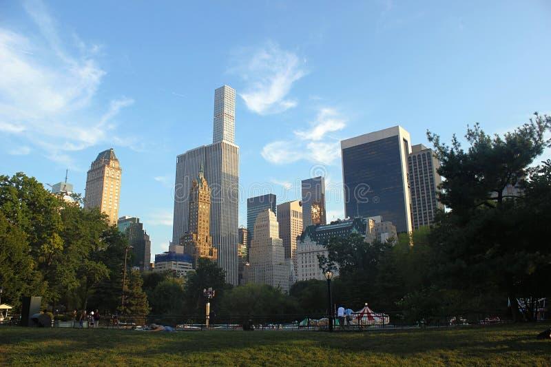 Het kaliber de zes-schot van de V ny september De wereld - breed beroemd Central Park stock fotografie