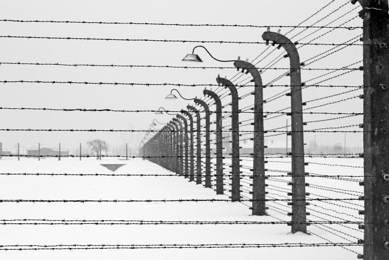 Het kamp van Auschwitz, Polen royalty-vrije stock fotografie