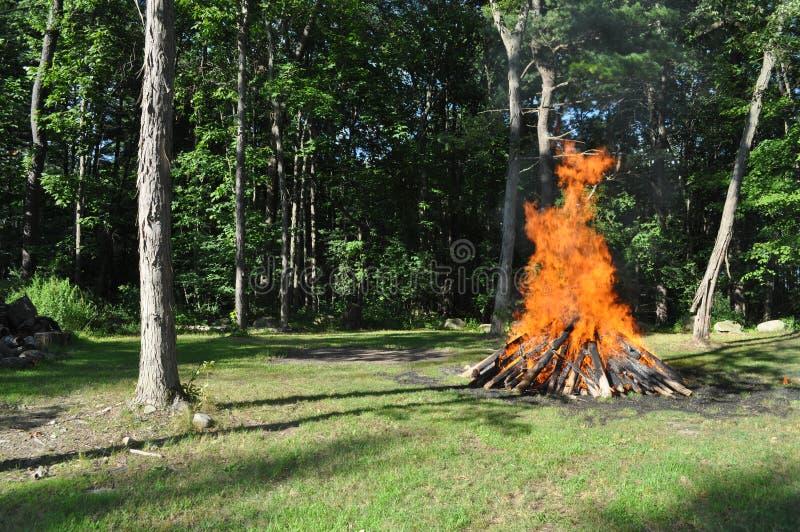 Het Kamp van de zomer stock afbeelding