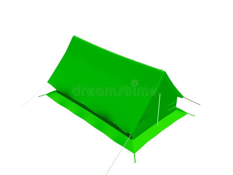 Het kamperen apparatuur. vector illustratie