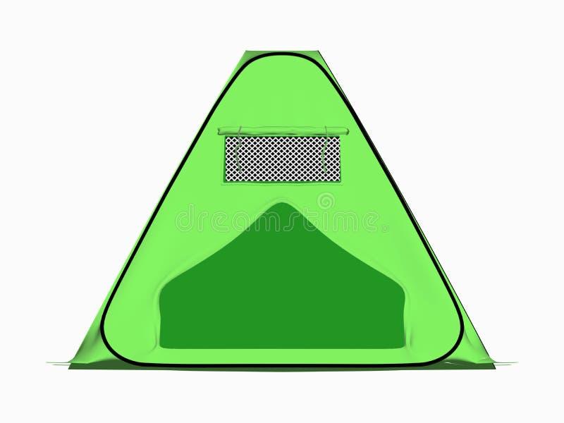 Het kamperen apparatuur. stock illustratie