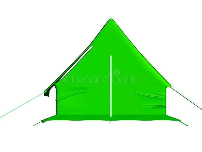 Het kamperen apparatuur. royalty-vrije illustratie