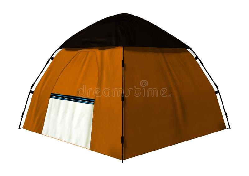 Het kamperen Tent vector illustratie