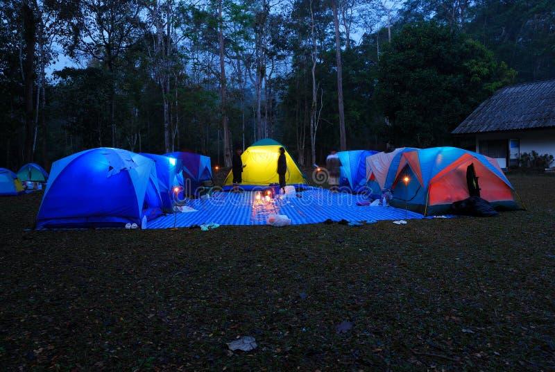 Tent het kamperen