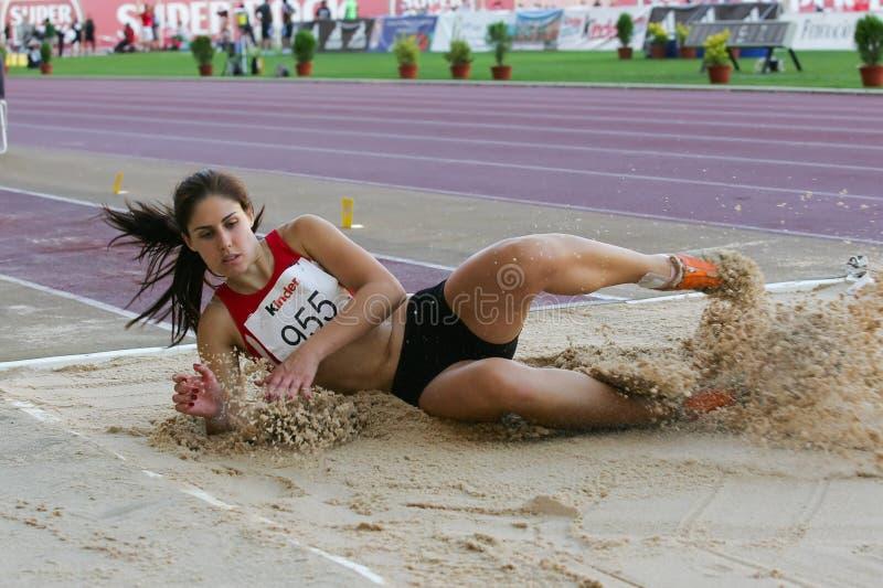 Het Kampioenschap van de atletiek, Sonia Marques stock fotografie