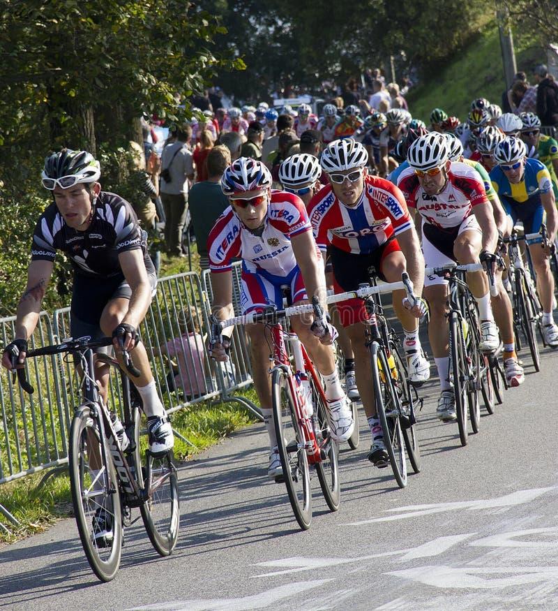 Het Kampioenschap van de Wereld van het Ras van de Weg UCI voor de Mensen van de Elite stock afbeelding