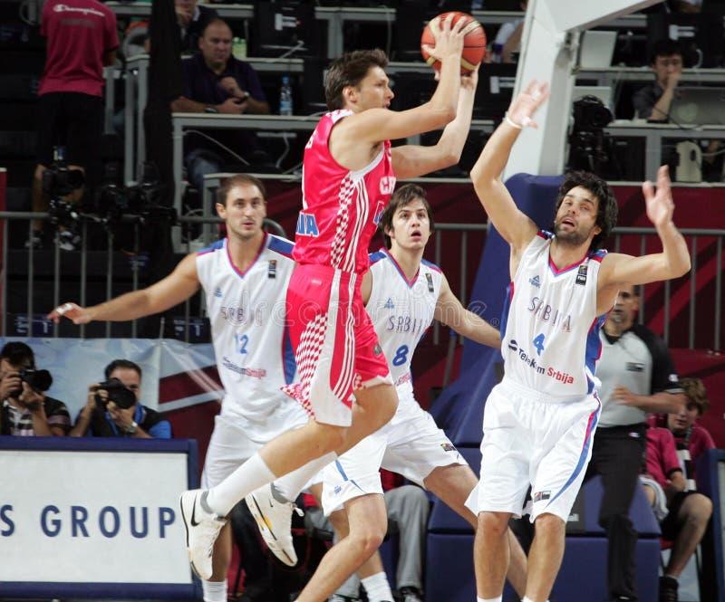 Het Kampioenschap van het Basketbal van de wereld stock foto's