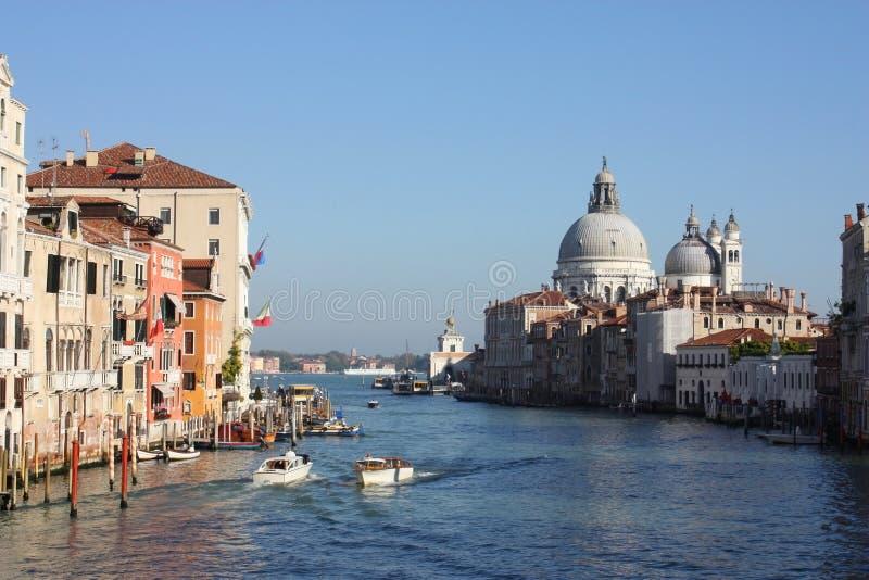 Het Kanaal Grande van Venezia stock foto