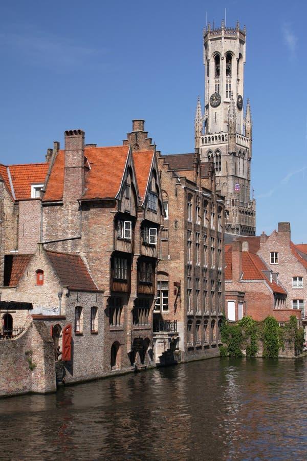 Het kanaal van Brugge royalty-vrije stock fotografie