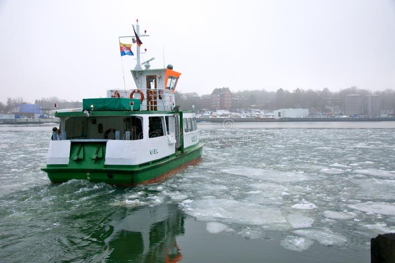Het kanaal van Kiel van de veerboot royalty-vrije stock afbeeldingen