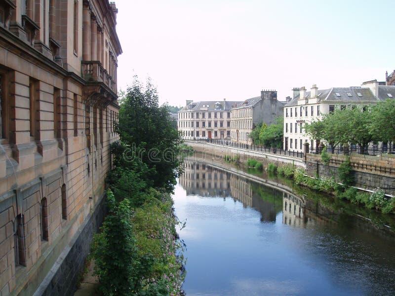Het Kanaal van Paisley royalty-vrije stock afbeeldingen