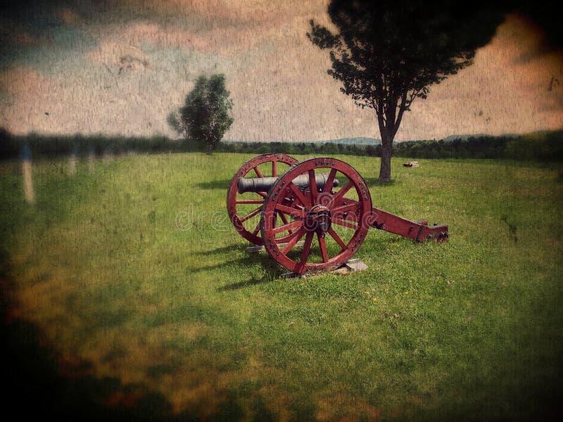 Het kanon van de Saratogalentes royalty-vrije stock fotografie
