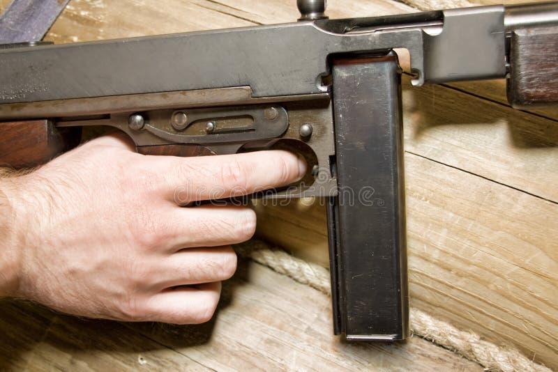 Het kanon van Thompson stock foto's