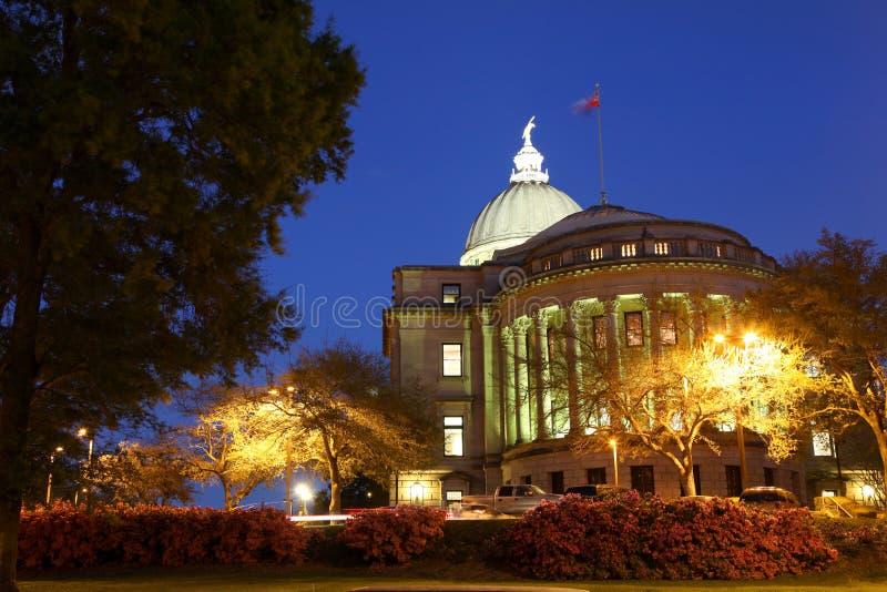 Het Kapitaal van de Mississippi royalty-vrije stock fotografie
